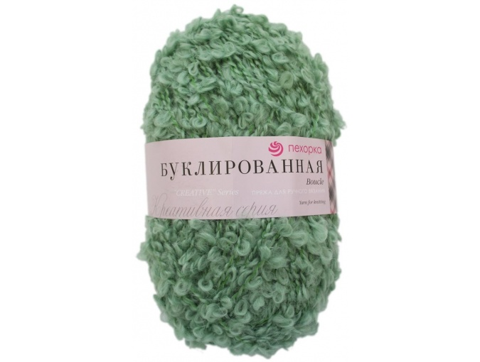 Pekhorka Boucle, 30% Mohair, 20% Wool, 50% Acrylic, 5 Skein Value Pack, 1000g фото 6
