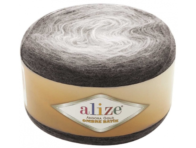 Alize Angora Gold Ombre Batik, 20% Wool, 80% Acrylic 4 Skein Value Pack, 600g фото 7