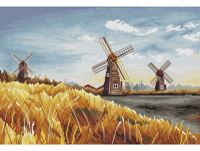 Mills Cross Stitch Pattern фото 1