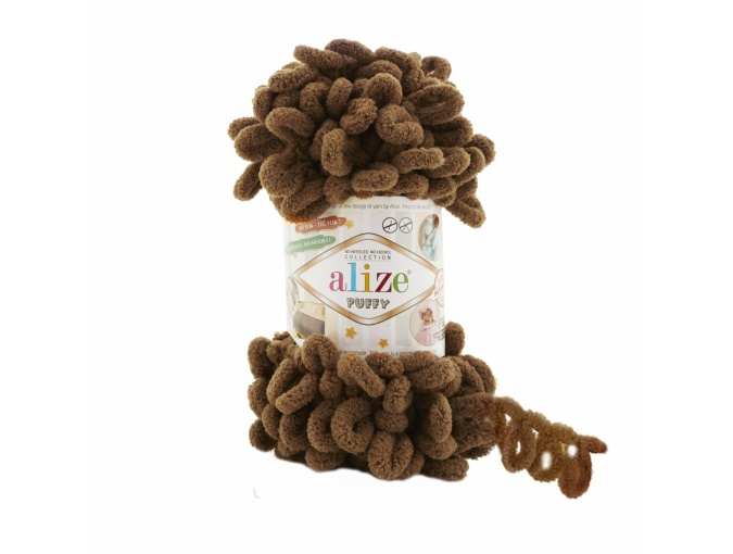 Alize Puffy, 100% Micropolyester 5 Skein Value Pack, 500g фото 35