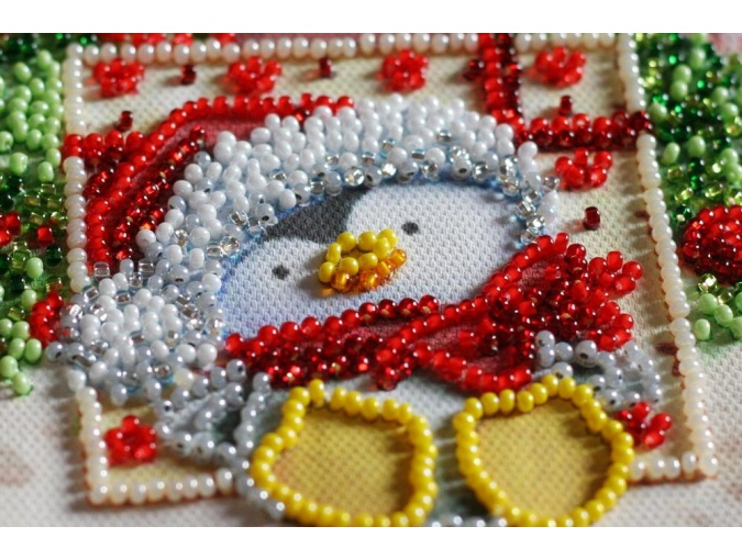 Under the Christmas Tree Bead Embroidery Kit фото 4