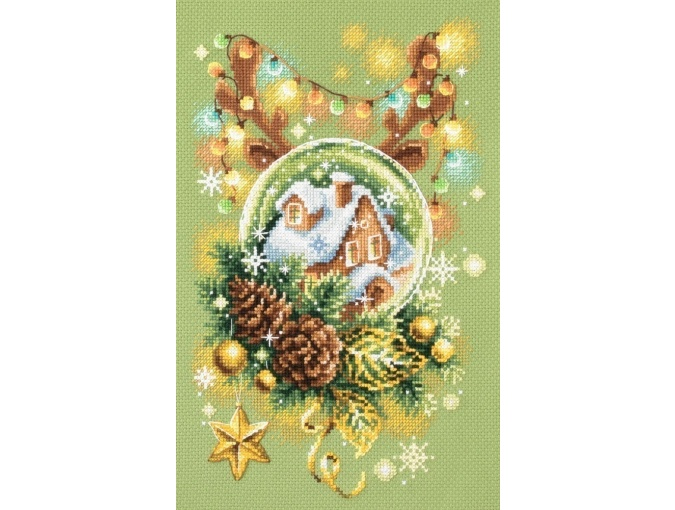 Light Christmas Cross Stitch Kit фото 3