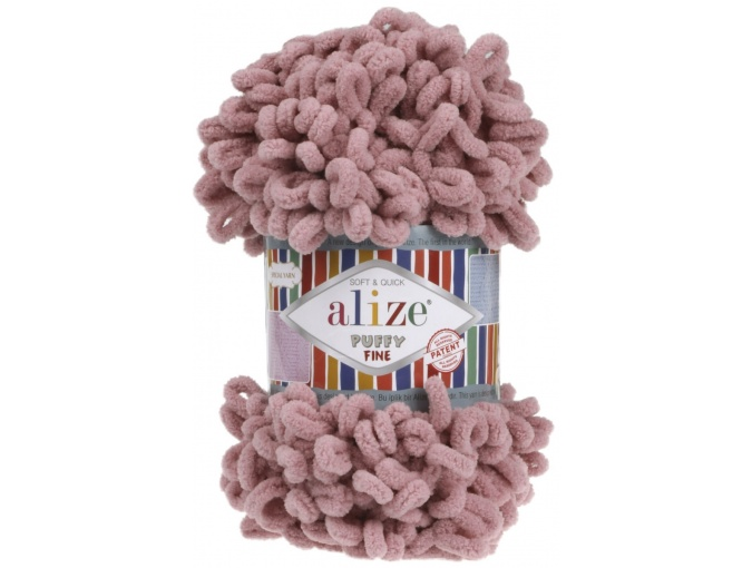 Alize Puffy Fine, 100% Micropolyester 5 Skein Value Pack, 500g фото 20