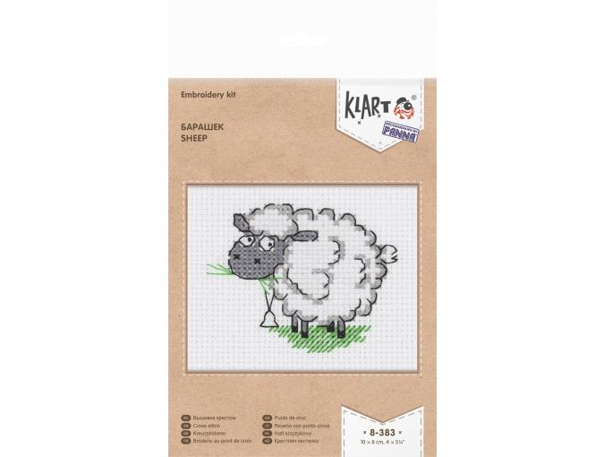 Sheep Cross Stitch Kit фото 2