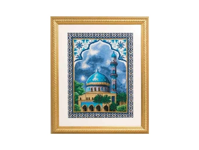 Mosque Cross Stitch Kit фото 2