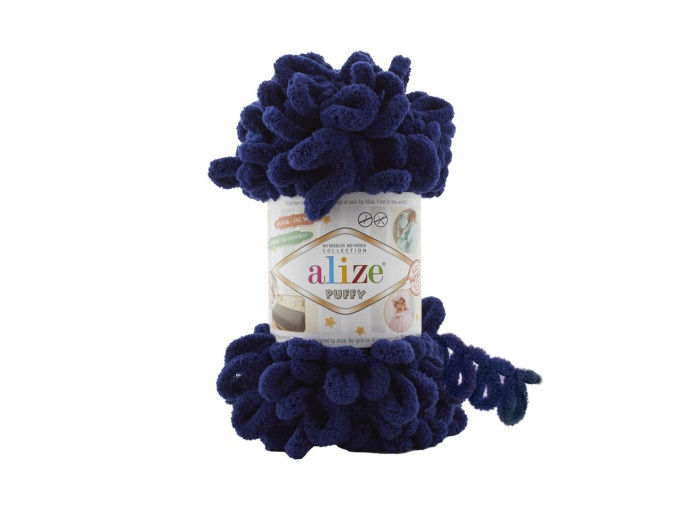 Alize Puffy, 100% Micropolyester 5 Skein Value Pack, 500g фото 14