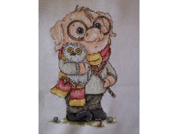 Pigter Cross Stitch Pattern фото 2
