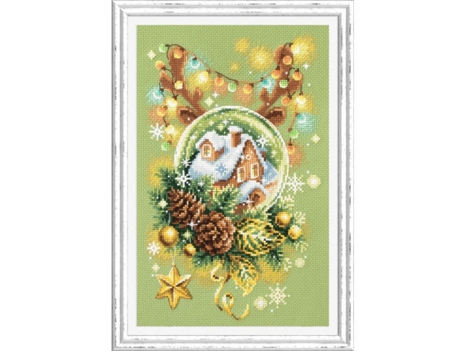 Light Christmas Cross Stitch Kit фото 1