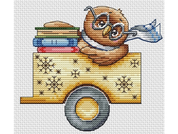Christmas Truck Cross Stitch Pattern фото 6