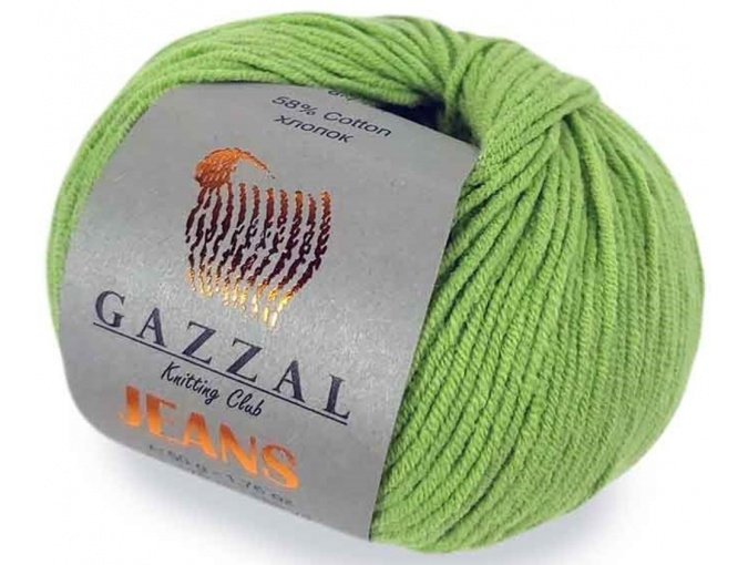 Gazzal Jeans, 58% Cotton, 42% Acrylic 10 Skein Value Pack, 500g фото 29