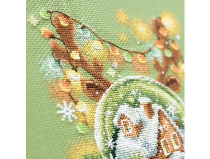 Light Christmas Cross Stitch Kit фото 6
