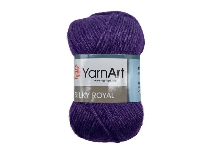 YarnArt Silky Royal 35% Silk Rayon, 65% Merino Wool, 5 Skein Value Pack, 250g фото 1