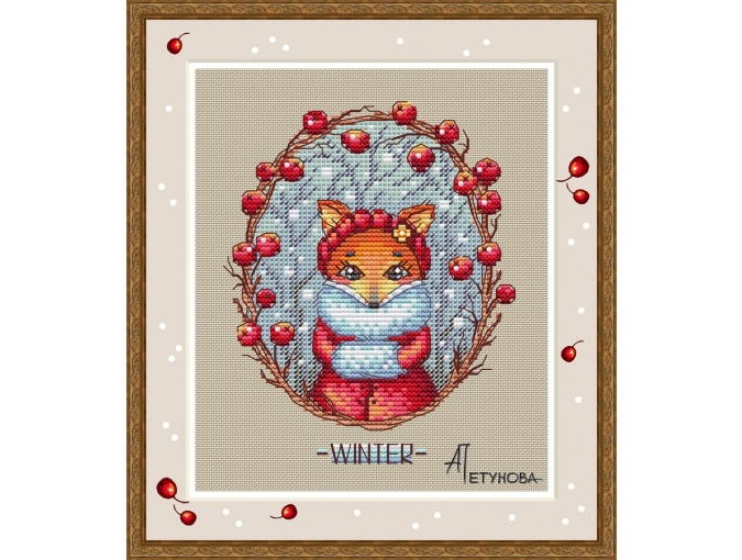Hello Winter! Cross Stitch Pattern фото 1