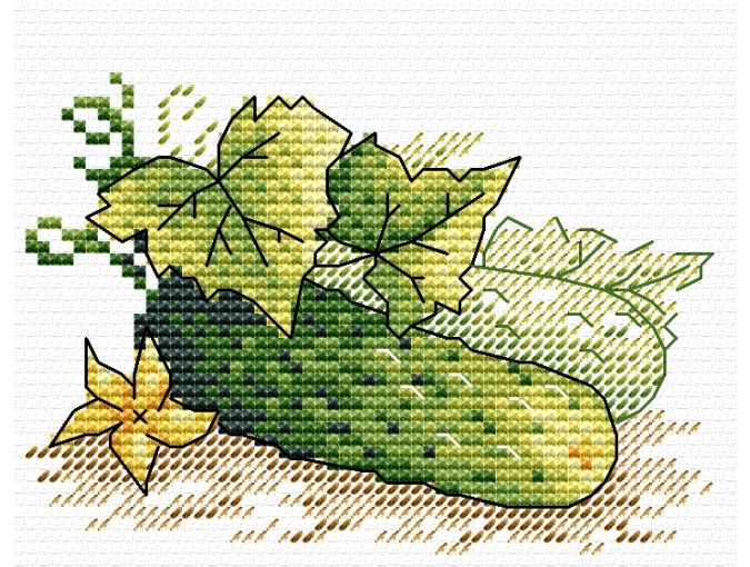 Only from the Garden Cross Stitch Kit фото 1