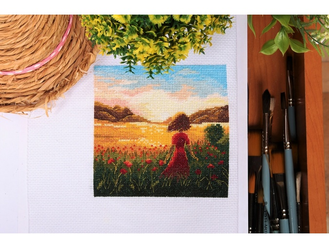 The Last Summer Day Cross Stitch Kit фото 3