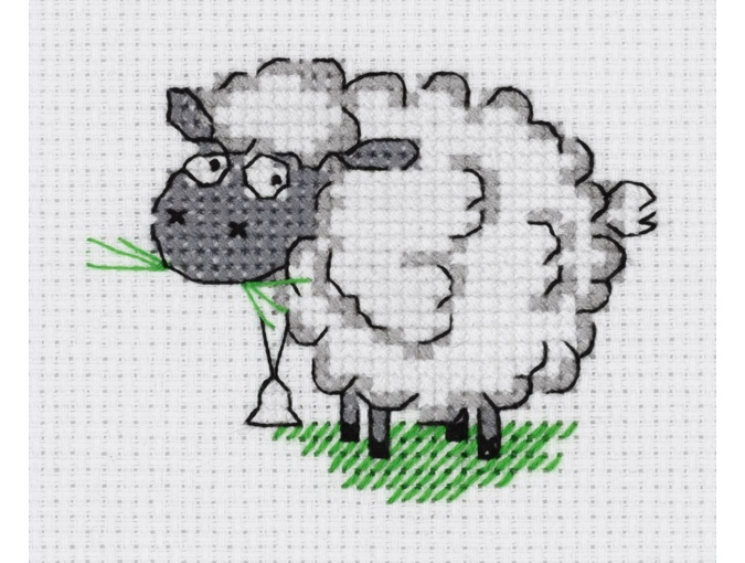 Sheep Cross Stitch Kit фото 1