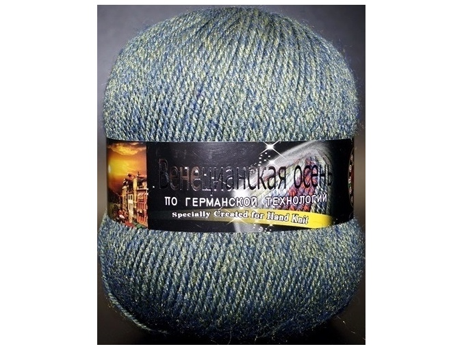 Color City Venetian Autumn 85% Merino Wool, 15% Acrylic, 5 Skein Value Pack, 500g фото 118