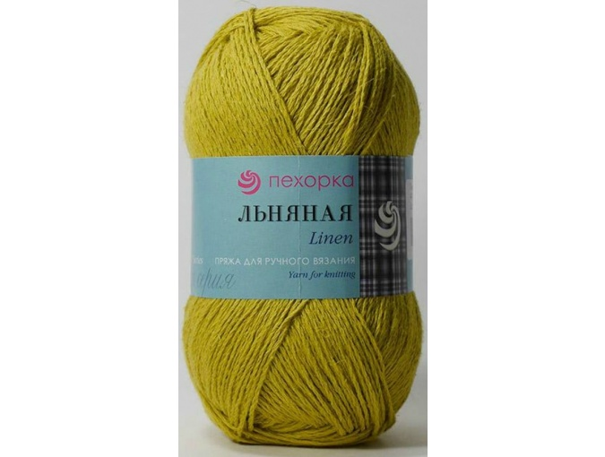 Pekhorka Linen, 55% Linen, 45% Cotton, 5 Skein Value Pack, 500g фото 15