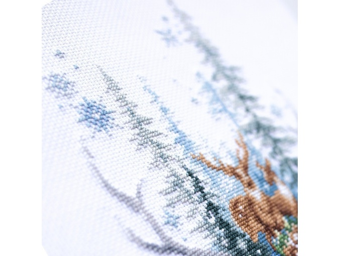 Winter Forest Spirit Cross Stitch Kit фото 5