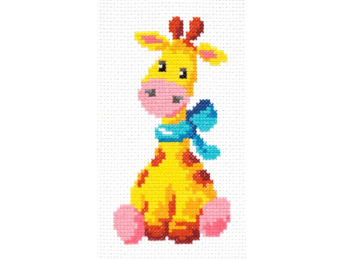 Giraffe Cross Stitch Kit фото 3