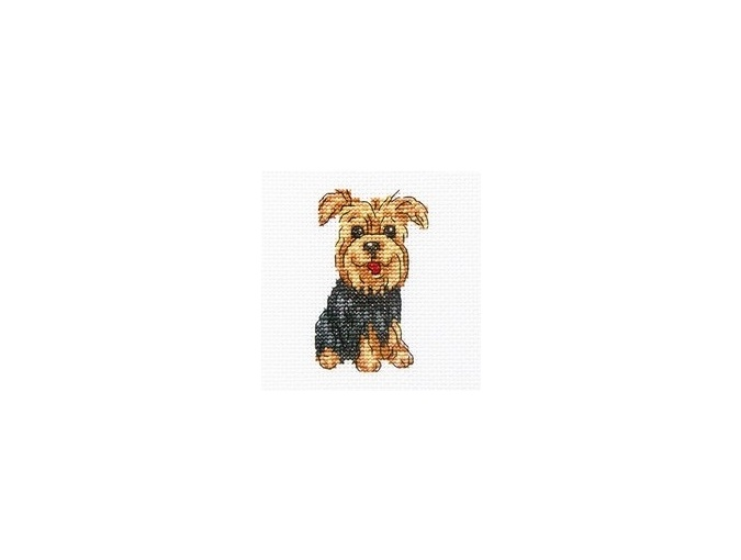 Cheerful Archie Cross Stitch Kit фото 1