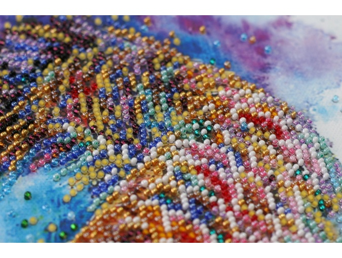 Good Luck Fish Bead Embroidery Kit фото 4