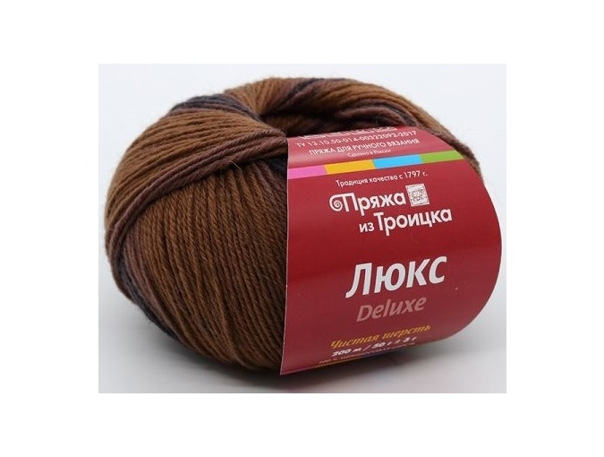 Troitsk Wool De Lux Print, 100% Merino Wool 10 Skein Value Pack, 500g фото 4