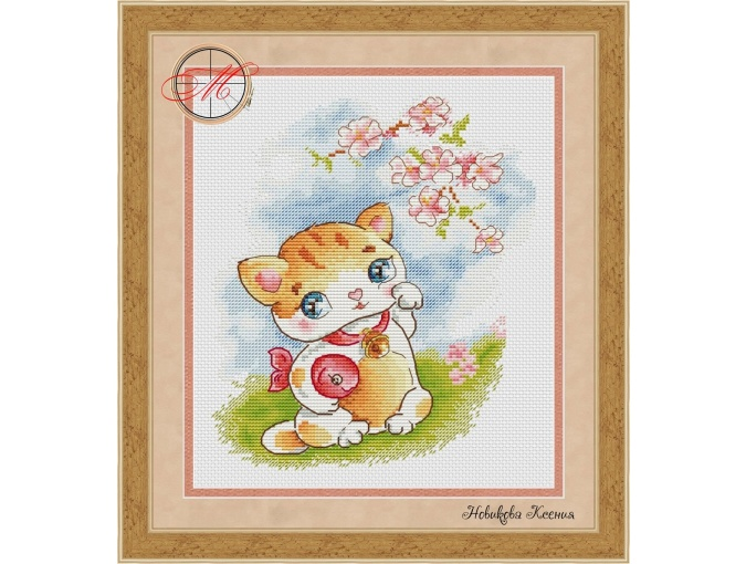 Little Kitty Cross Stitch Pattern фото 1