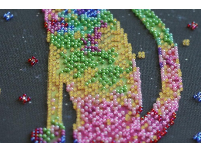 Kittens' Purrings Bead Embroidery Kit фото 4