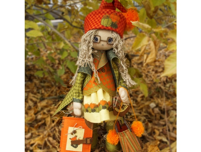 Favorite Heroes. Autumn Doll Sewing Kit фото 3