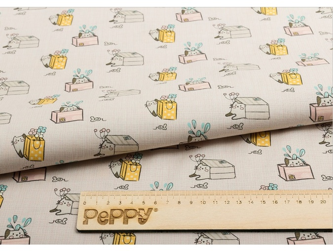 Fat Quarter Peppy, print Beige MP-10 фото 2