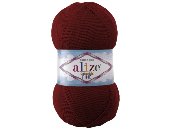 Alize Cotton Gold Fine 55% cotton, 45% acrylic 5 Skein Value Pack, 500g фото 23