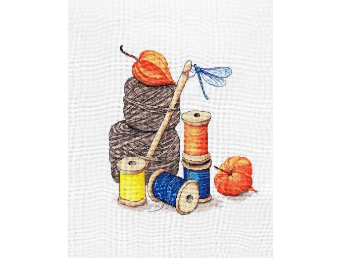 Thread Still Life Cross Stitch Kit фото 1