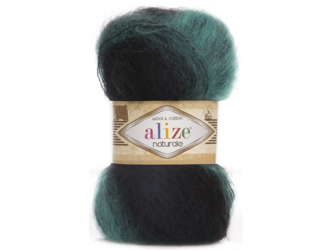 Alize Naturale, 60% Wool, 40% Cotton, 5 Skein Value Pack, 500g фото 29
