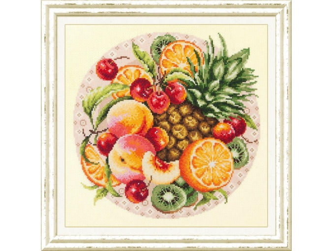 Exotic Fruits Cross Stitch Kit фото 1