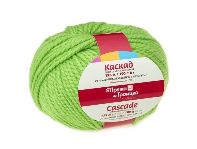 Troitsk Wool Cascade, 40% wool, 60% acrylic 10 Skein Value Pack, 1000g фото 23