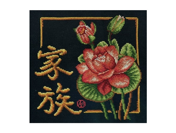 Symbol of Family Cross Stitch Kit фото 1
