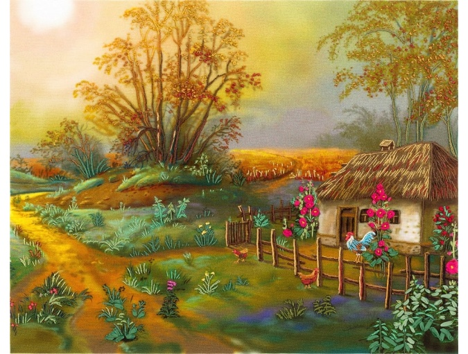 Countryside Morning Embroidery Kit фото 1