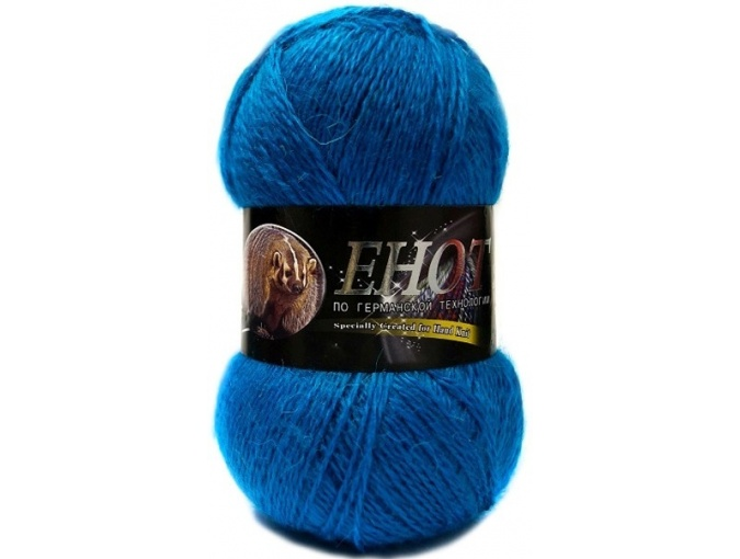 Color City Raccoon 60% Lambswool, 20% Raccoon Wool, 20% Acrylic, 10 Skein Value Pack, 1000g фото 7