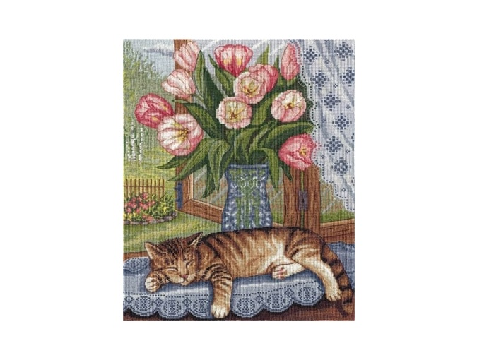 Lazy Dozer Cross Stitch Kit фото 1
