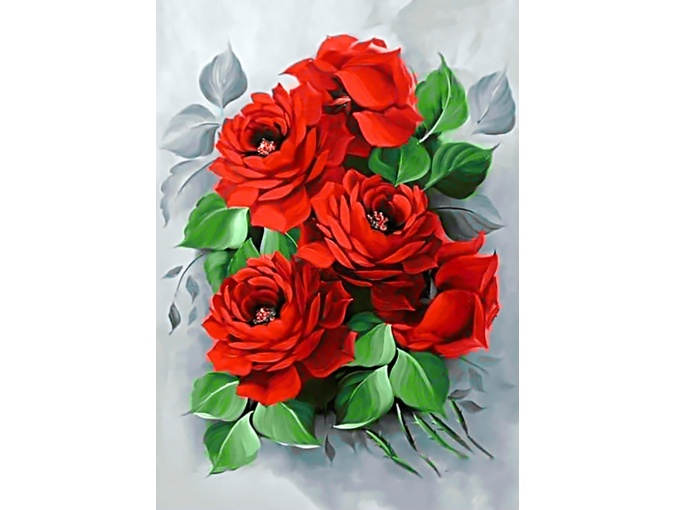 Fine Roses Diamond Painting Kit фото 1