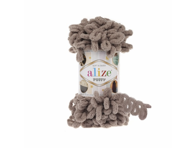 Alize Puffy, 100% Micropolyester 5 Skein Value Pack, 500g фото 48