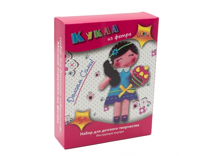 Doll with Cake Toy Sewing Kit фото 1