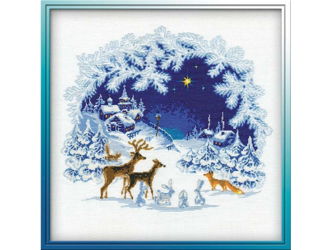 Christmas Cross Stitch Kit фото 1
