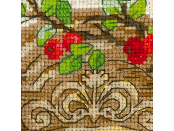 Window With Apples Cross Stitch Kit фото 5