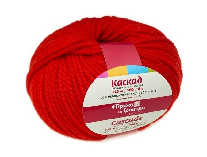 Troitsk Wool Cascade, 40% wool, 60% acrylic 10 Skein Value Pack, 1000g фото 16