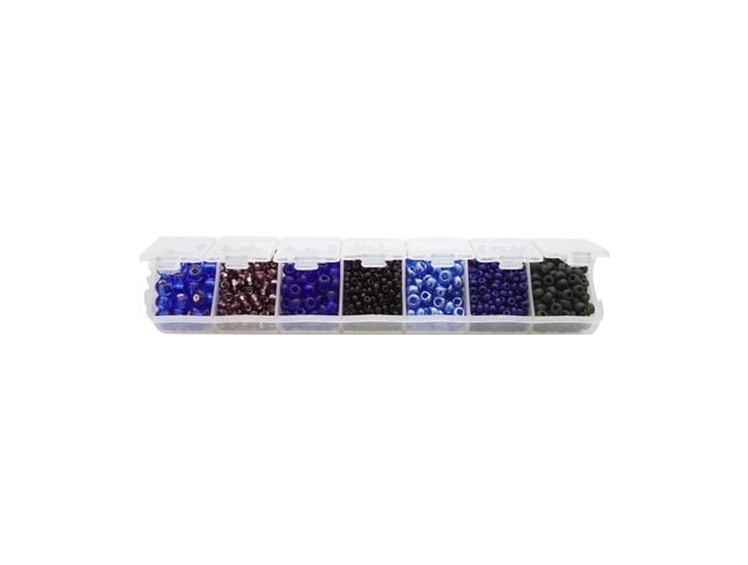 Preciosa Bead Set А6, Blueberry Mix фото 1