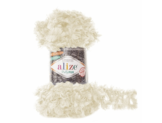 Alize Puffy Fur, 100% Polyester 5 Skein Value Pack, 500g фото 11