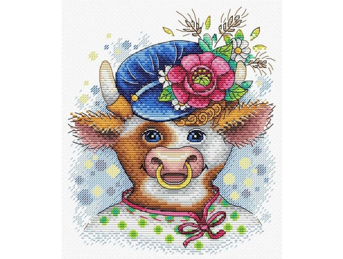 The First Guy in the Village Cross Stitch Kit фото 1