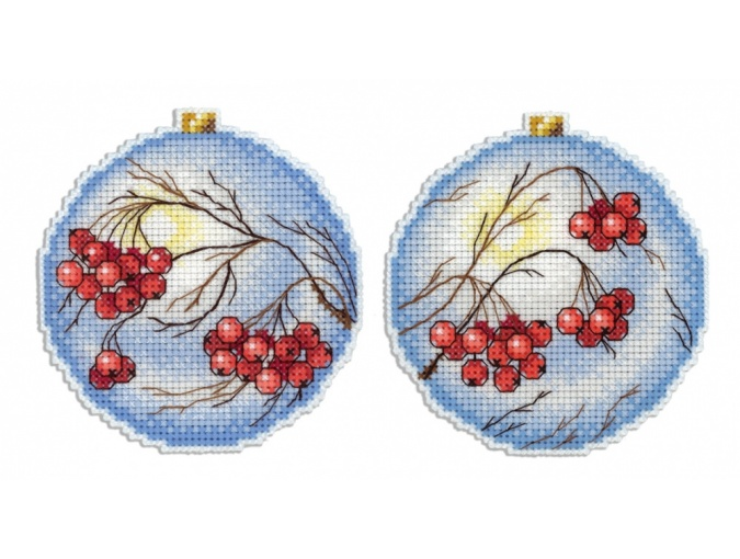 Frosty Rowan Cross Stitch Kit фото 1